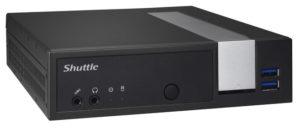Shuttle DX30 Barebone PC - 24x7 godkendt PC baseret på Intel Apollo Lake
